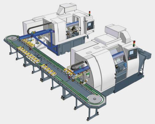 Línea de Producción automatizada CZTech